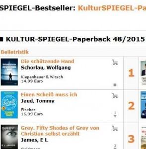 Nr. 1 der Spiegel-Bestseller-Liste - Auswahl